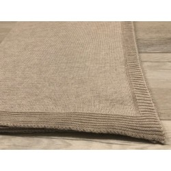 Baby-Decke Kaschmir und Seide Sand