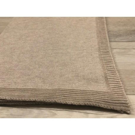 Baby Cashmere and Silk Blanket - Sand